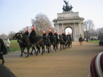 wellington arch and horse guard
